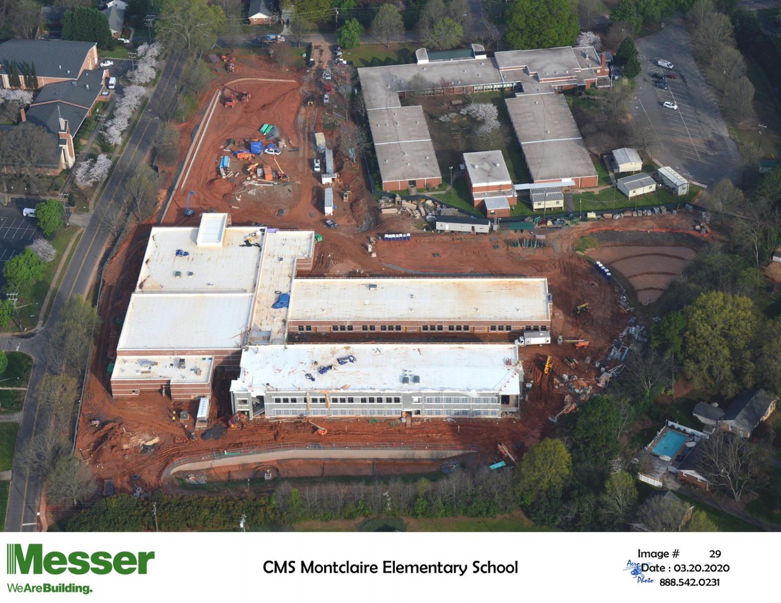 Montclaire Elementary School-Aerial